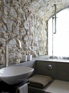 Le mur en pierre apparente en 57 photos!   interijer   Pinterest ...