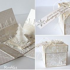 exploding box - I have made several of these over the years as gifts and everyone who has received one has loved it