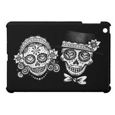 Sugar Skull Couple iPad Mini Case