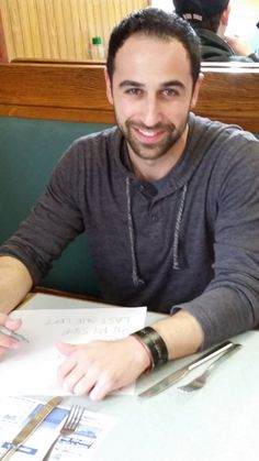 At breakfast at my local diner working out todays setlist! Start time 3 pm EST!  http://Concertwindow.com/mysilentbravery  #livemusic