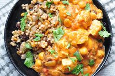 Baked Curried Tomato Chicken