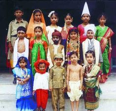 Traditional costumes of the Indian states