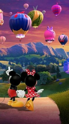 iPhone and Android Wallpapers: Minnie and Mickey Mouse Wallpaper for iPhone and Android Mickey Minnie Mouse, Arte Do Mickey Mouse, Mickey Mouse And Friends, Disney Mickey, Disney Art, Disney Films, Mickey Mouse Wallpaper Iphone, Cute Disney Wallpaper, Images Disney
