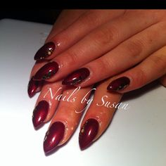 Wine gels with glitter