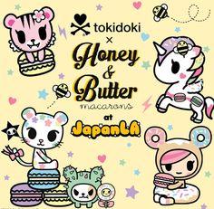 Tokidoki X Honey & Butter