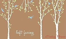 Budding Birch Tree Wall Decals - Trading Phrases...nice but more than I want to spend.