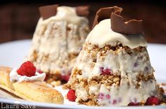 Parfait Tiramisu Ice Cream Freeze, Parfait, Pinterest Recipes, Sweet Desserts, Tiramisu, Baking Recipes, Mousse, Deserts, Food And Drink