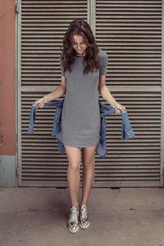Vestido listrado Shirt Dress, T Shirt, Boutique, Dresses, Fashion, Seersucker Dress, Tall Clothing, Gowns, Moda