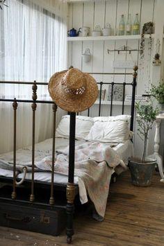 chambre avec lit - une idee creative