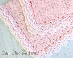 PDF PATTERN of how to make the Iris Baby Blanket. NOT A PHYSICAL BLANKET FOR SALE.  ♥ Crochet baby blanket pattern for the delicate and adorable pattern, Iris featuring 3-layer edging. It will be a hit as a baby shower gift for new moms, or an heirloom within the family.  ♥ Pattern provided makes a blanket approximately 33.5 x 33.5 inches, crocheted with specified yarn and gauge. ♥ Use any DK weight yarn.  ♥ This pattern is written in standard US TERMS and includes helpful photos.  ♥ Skill…