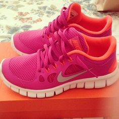 Colorful and comfortable sneakers for working out