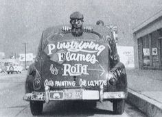 Ed Roth's first company car