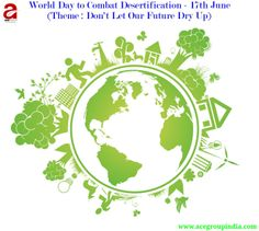 world day to #combat #desertification 2014