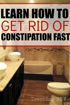 Learn how to get rid of constipation fast - Because for how to tips - Click on the following link!  http://www.teachinghow.com/how-to-get-rid-of-constipation/