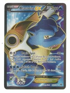 Blastoise EX 142/146 - Pokemon XY Holo Full Art Ultra Rare Card I want this card so much
