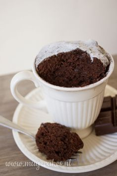 Mug Recipes, Cake Recipes, Microwave Recipes, Lunch Snacks, Food Allergies, Sugar Free, A Food, Pudding, Sweets