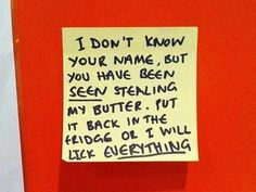 This alarming declaration. | 24 Notes That Are Sassier Than You
