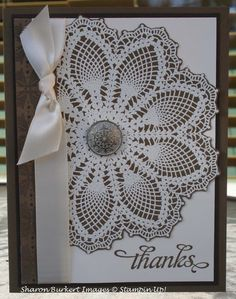 As the Ink Dries: Stamp Set Hello Doily