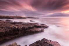 Classiebawn Castle at horizon.. Classiebawn Castle, Mullaghmore, Ireland... . by Martin Jancek on 500px