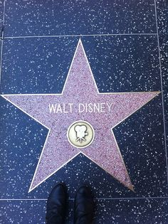 Walt Disney, a star in our eyes and our hearts. Where would we be without his iconic movies?