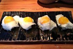 SUSHI LEBLON Sushi com ovinho de codorna e azeite trufado