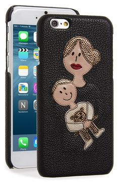 Dolce&Gabbana+'Mama'+Leather+iPhone+6+Case+available+at+#Nordstrom