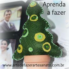 Árvore de Natal em Feltro   DIY ~ Arte De Fazer   Decoração e Artesanato