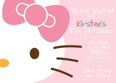 Hello Kitty -- Really cute ideas!!!!  kirsten5thbday16 by kirstenreese, via Flickr