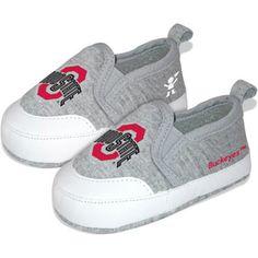 NCAA Pre-Walk Baby Shoes, Ohio State University Buckeyes  How Stinken Cute!!