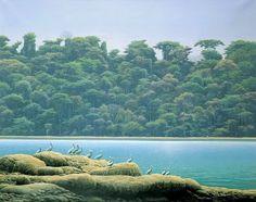Pintor Paisajista Tomas Sánchez (Cienfuegos Cuba)