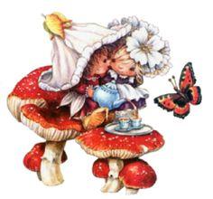 Victoria Plum Иллюстрации - Purnell Publishers Ltd. Pictures To Paint, Pretty Pictures, Plum Art, Victoria Plum, Dragons, Baby Clip Art, Mystique, Holly Hobbie, Spring Art