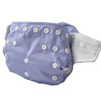 # 5. If you're on a tight budget, Kawaii's are a great alternative. They are durable, come with 2 very absorbent inserts and are half the price. #inexpensivecloth #clothdiaper