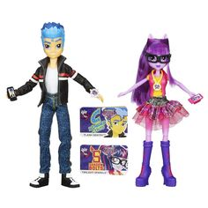 Flash Sentry and Twilight Sparkle Equestria Girls Friendship Games 2-pack