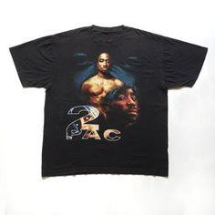 9f27d904 Vintage 90s Tupac Shakur 2Pac Makaveli Thug Life T-Shirt Hip Hop Rap Tees  Rare