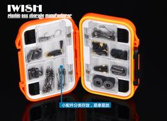 Tackle Box And Bait Tackle Box Large Compartments Fishing Tackle Box, Bait And Tackle, Fishing Life, Lure Box, Box Manufacturers, Fishing Accessories, Storage Boxes, Abs, Pouch