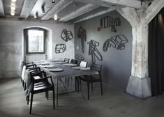 """This is the Noma restaurant. It has been named """"World's Best Restaurant"""" this year and it's located in Copenhagen. The interior has been a project by Danish studio Space Copenhagen. It now has a look that's very different from the previous design."""