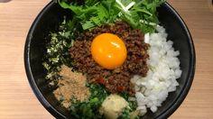 麺屋まぜはる  台湾カレーまぜそば おい飯 サービス ¥850
