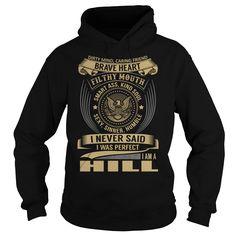 HILL Last Name, Surname T-Shirt