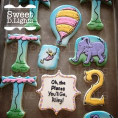 Oh The Places You'll Go Cookies   Cookie Connection