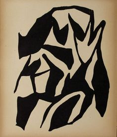 377: JEAN (HANS) ARP (French) Woodcuts DADA