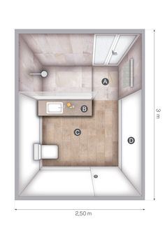Small Bathroom Layout, Small Bathroom With Shower, Bathroom Grey, Tiny House Bathroom, Bathroom Renos, Bathroom Colors, Hotel Room Design, Toilet Design, Bathroom Design Luxury