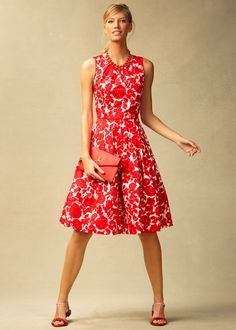 Talbots Spring 2013 - Outfits Part 2 Dress Skirt, Dress Up, Grace Beauty, Love Fashion, Womens Fashion, Dress Silhouette, Mode Inspiration, Fashion Inspiration, Look At You