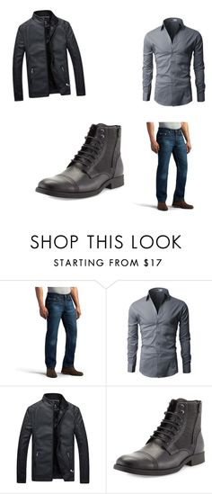 """""""Mens outfit 2"""" by migdalia-leroux on Polyvore featuring Lee, Robert Wayne, men's fashion and menswear"""