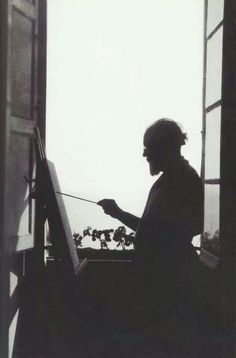 Matisse painting; photographer unknown; c. 1919