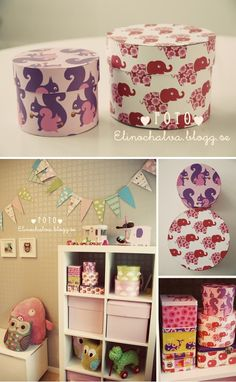 Tins and paper