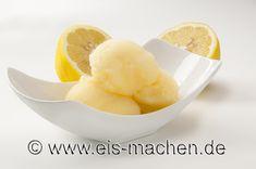 Erfischendes Zitronen-Sorbet selber machen. Die Gäste werden begeistert sein. (Foto: eis-machen.de /Erich Eggimann)