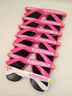 Personalized Sunglasses Bachelorette Party Sunglasses Custom