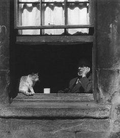Photo by Bill Brandt, 1948.
