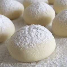 Classic Flour Cookies. Melting in your mouth! | giverecipe.com | #cookies #turkish