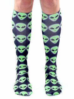 "We are the same I am an alien! *Unisex *100% polyester *Made in the USA *One Size fits most *Women's shoe size 4-12 *Mens Shoe Size 6-13 *20"" L x 4"" W"
